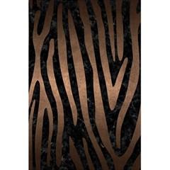 Skin4 Black Marble & Bronze Metal (r) 5 5  X 8 5  Notebook by trendistuff
