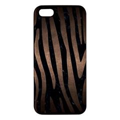 Skin4 Black Marble & Bronze Metal (r) Apple Iphone 5 Premium Hardshell Case by trendistuff