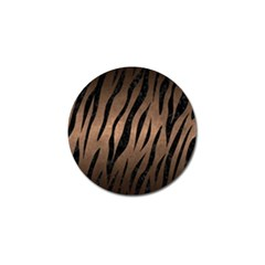 Skin3 Black Marble & Bronze Metal (r) Golf Ball Marker (10 Pack) by trendistuff