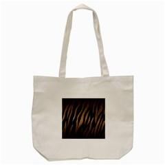Skin3 Black Marble & Bronze Metal Tote Bag (cream) by trendistuff