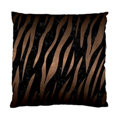 Skin3 Black Marble & Bronze Metal Standard Cushion Case (two Sides) by trendistuff