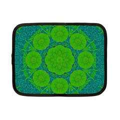 Summer And Festive Touch Of Peace And Fantasy Netbook Case (small)  by pepitasart