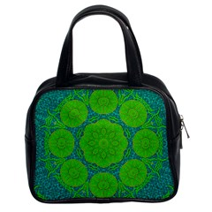Summer And Festive Touch Of Peace And Fantasy Classic Handbags (2 Sides) by pepitasart