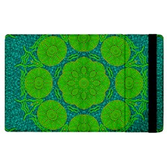 Summer And Festive Touch Of Peace And Fantasy Apple Ipad 2 Flip Case by pepitasart