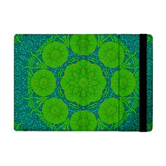 Summer And Festive Touch Of Peace And Fantasy Apple Ipad Mini Flip Case by pepitasart