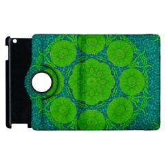 Summer And Festive Touch Of Peace And Fantasy Apple Ipad 2 Flip 360 Case by pepitasart