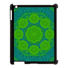 Summer And Festive Touch Of Peace And Fantasy Apple Ipad 3/4 Case (black) by pepitasart
