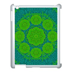 Summer And Festive Touch Of Peace And Fantasy Apple Ipad 3/4 Case (white) by pepitasart