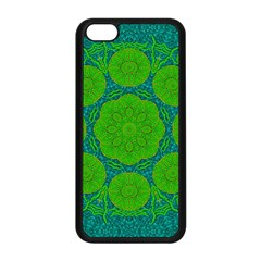 Summer And Festive Touch Of Peace And Fantasy Apple Iphone 5c Seamless Case (black) by pepitasart