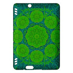 Summer And Festive Touch Of Peace And Fantasy Kindle Fire Hdx Hardshell Case by pepitasart
