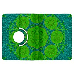 Summer And Festive Touch Of Peace And Fantasy Kindle Fire Hdx Flip 360 Case by pepitasart