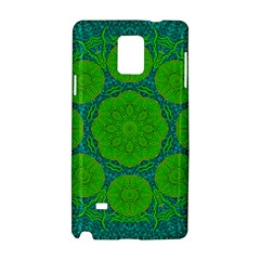 Summer And Festive Touch Of Peace And Fantasy Samsung Galaxy Note 4 Hardshell Case by pepitasart