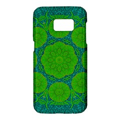 Summer And Festive Touch Of Peace And Fantasy Samsung Galaxy S7 Hardshell Case  by pepitasart