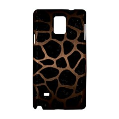 Skin1 Black Marble & Bronze Metal (r) Samsung Galaxy Note 4 Hardshell Case by trendistuff