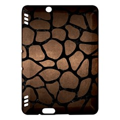 Skin1 Black Marble & Bronze Metal Kindle Fire Hdx Hardshell Case by trendistuff