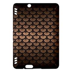 Scales3 Black Marble & Bronze Metal (r) Kindle Fire Hdx Hardshell Case by trendistuff