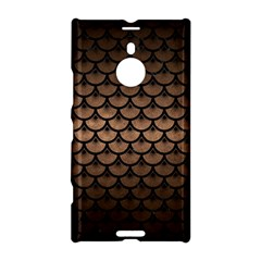 Scales3 Black Marble & Bronze Metal (r) Nokia Lumia 1520 Hardshell Case by trendistuff