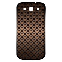 Scales2 Black Marble & Bronze Metal (r) Samsung Galaxy S3 S Iii Classic Hardshell Back Case by trendistuff