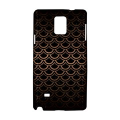 Scales2 Black Marble & Bronze Metal Samsung Galaxy Note 4 Hardshell Case by trendistuff