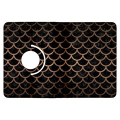Scales1 Black Marble & Bronze Metal Kindle Fire Hdx Flip 360 Case by trendistuff