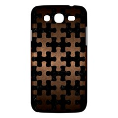 Puzzle1 Black Marble & Bronze Metal Samsung Galaxy Mega 5 8 I9152 Hardshell Case  by trendistuff