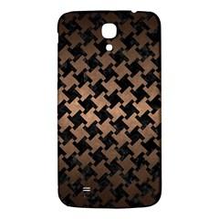 Houndstooth2 Black Marble & Bronze Metal Samsung Galaxy Mega I9200 Hardshell Back Case