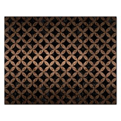 Circles3 Black Marble & Bronze Metal Jigsaw Puzzle (rectangular) by trendistuff
