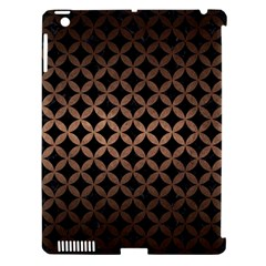Circles3 Black Marble & Bronze Metal Apple Ipad 3/4 Hardshell Case (compatible With Smart Cover) by trendistuff