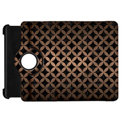 Circles3 Black Marble & Bronze Metal Kindle Fire Hd Flip 360 Case by trendistuff