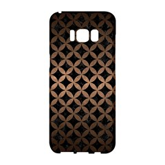 Circles3 Black Marble & Bronze Metal Samsung Galaxy S8 Hardshell Case  by trendistuff