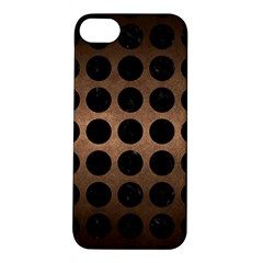 Circles1 Black Marble & Bronze Metal (r) Apple Iphone 5s/ Se Hardshell Case by trendistuff