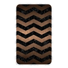 Chevron3 Black Marble & Bronze Metal Memory Card Reader (rectangular) by trendistuff