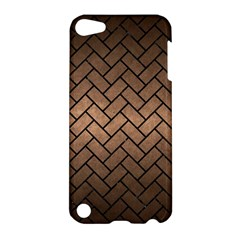 Brick2 Black Marble & Bronze Metal (r) Apple Ipod Touch 5 Hardshell Case by trendistuff