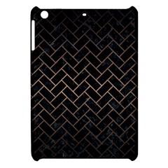 Brick2 Black Marble & Bronze Metal Apple Ipad Mini Hardshell Case by trendistuff