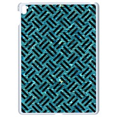 Woven2 Black Marble & Blue Green Water (r) Apple Ipad Pro 9 7   White Seamless Case by trendistuff