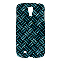 Woven2 Black Marble & Blue Green Water Samsung Galaxy S4 I9500/i9505 Hardshell Case by trendistuff