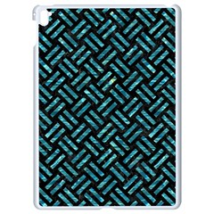 Woven2 Black Marble & Blue Green Water Apple Ipad Pro 9 7   White Seamless Case by trendistuff