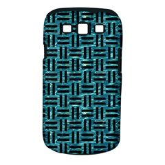 Woven1 Black Marble & Blue Green Water (r) Samsung Galaxy S Iii Classic Hardshell Case (pc+silicone) by trendistuff