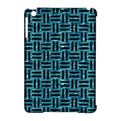 Woven1 Black Marble & Blue Green Water (r) Apple Ipad Mini Hardshell Case (compatible With Smart Cover) by trendistuff