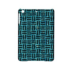 Woven1 Black Marble & Blue Green Water (r) Apple Ipad Mini 2 Hardshell Case by trendistuff