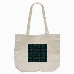 Woven1 Black Marble & Blue Green Water Tote Bag (cream) by trendistuff