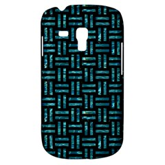 Woven1 Black Marble & Blue Green Water Samsung Galaxy S3 Mini I8190 Hardshell Case by trendistuff
