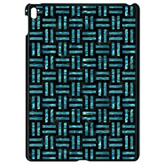 Woven1 Black Marble & Blue Green Water Apple Ipad Pro 9 7   Black Seamless Case by trendistuff