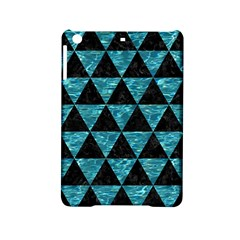 Triangle3 Black Marble & Blue Green Water Apple Ipad Mini 2 Hardshell Case by trendistuff