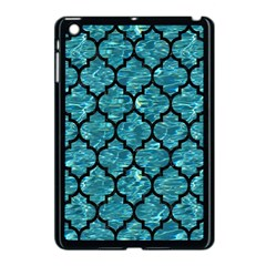 Tile1 Black Marble & Blue Green Water (r) Apple Ipad Mini Case (black) by trendistuff