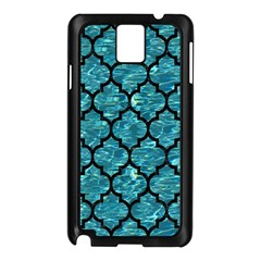 Tile1 Black Marble & Blue Green Water (r) Samsung Galaxy Note 3 N9005 Case (black) by trendistuff