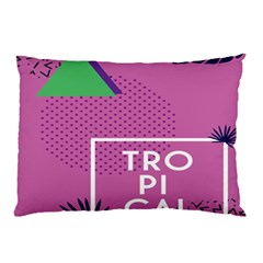 Behance Feelings Beauty Polka Dots Leaf Triangle Tropical Pink Pillow Case by Mariart