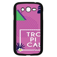 Behance Feelings Beauty Polka Dots Leaf Triangle Tropical Pink Samsung Galaxy Grand Duos I9082 Case (black) by Mariart