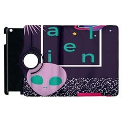 Behance Feelings Beauty Space Alien Star Galaxy Apple Ipad 3/4 Flip 360 Case by Mariart