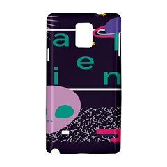 Behance Feelings Beauty Space Alien Star Galaxy Samsung Galaxy Note 4 Hardshell Case by Mariart